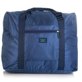 Merrym Nylon Waterproof Foldable Lightweight Large Travel Bag Blue