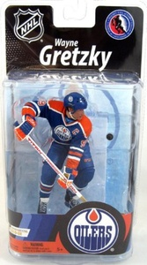 McFarlane Toys NHL Sports Picks Series 27 Action Figure Wayne Gretzky (Edmonton Oilers) by SportsPicks: NHL Hockey