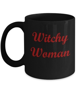 Witchy Woman Coffee Mug Cup