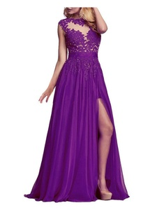 Beauty Bridal Women's Prom Dresses Long Evening Gown (14,Purple)