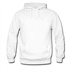Who MD For men Printed Sweatshirt Pullover Hoody