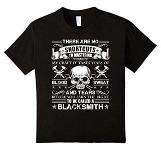 Kids Blacksmith Shirt - To Be Called A Blacksmith T shirt 10 Black