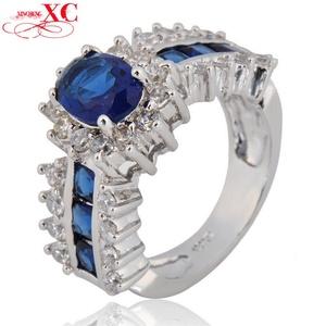 GemMart Jewelry Zircon LMen's Wedding Finger Ring T White Gold Filled Ring Size 5/6/7/8/9/10/11/12 R5B0915