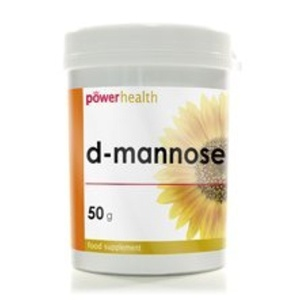 (Pack Of 6) Power Health - D-Mannose Powder 50gm - (50g) by Power Health