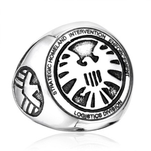 ARICO Strategic Homeland Intervention Enforcement and Logistics Division Ring Stainless Steel Cool 9.0