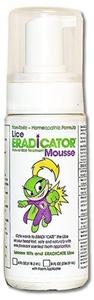 Lice ERADICATOR Foam Spray Mousse, non-toxic, natural peppermint formula, 4oz with foam applicator by LICE ERADICATOR
