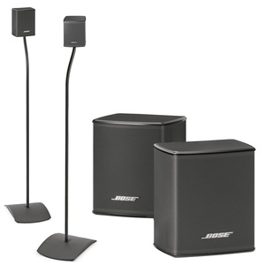 Bose Virtually Invisible 300 Wireless Surround Speakers w/ UFS-20 Floor Stands - Bundle
