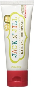Jack N' Jill Natural Toothpaste Organic 50G, Set Of 3 - Strawberry by JACK AND JILL KIDS