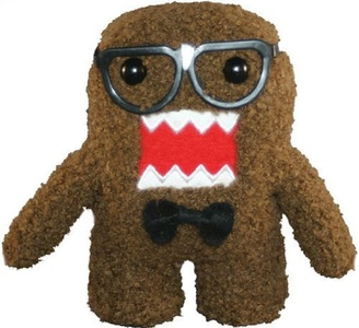 Licensed 2 Play Domo Nerd 6 1/2 Plush Novelty Doll by Licensed 2 Play