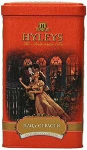 Hyleys Tea Passion Fruit Loose Black Tea, 4.4-Ounce Tin (Pack of 4) by HYLEYS Tea