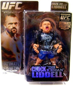 Round 5 UFC Ultimate Collector Series 1 LIMITED EDITION Action Figure Chuck Iceman Liddell by Round 5 MMA