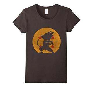 Women's Dragon Kamehameha V2 T-Shirt Small Asphalt