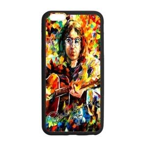 Onshop Custom Colorful Painting John Lennon Phone Case Laser Technology for iPhone 6 Plus