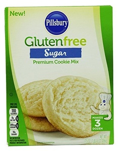 Gluten Free Sugar Premium Cookie Mix ( 2 packs) by Pillsbury