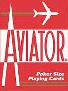 Play Cards Aviator Poker Jumbo (3-Pack) by Aviator