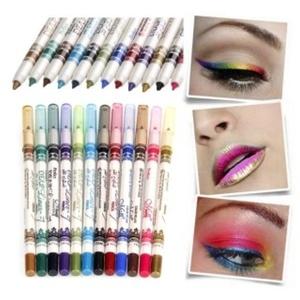 12 Colors M.N. Waterproof Glitter Eyeliner Eyeshadow Lip Pencil Pen Cosmetic Makeup by Completestore