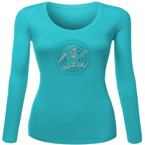 The_End for Women Printed Long Sleeve Cotton T-shirt