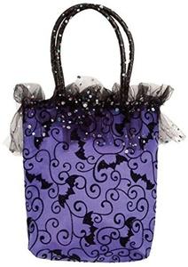 Women's Purple Halloween Handbag () Costume Accessory by Women's