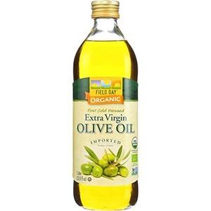 Field Day Olive Oil Organic Ev GlassLtr (12x1LTR ) by Field Day
