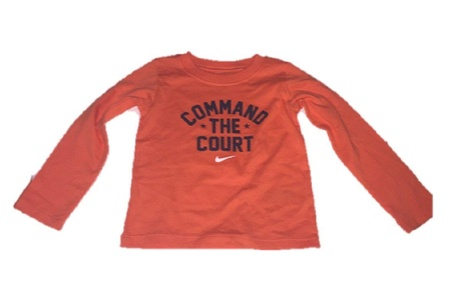 Nike Baby Boys' Command the Court Long Sleeve T-Shirt (24 Months)