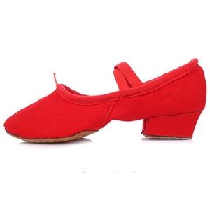 Leather shoes soft bottom teachers/ dancing shoes/ belly dancing shoes/ women's ballet shoes/ shoes-E Foot length=21.8CM(8.6Inch)