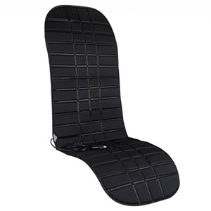 12V Black Heating Auto Car Seat Cover Warmer Cushion for Driving Seat
