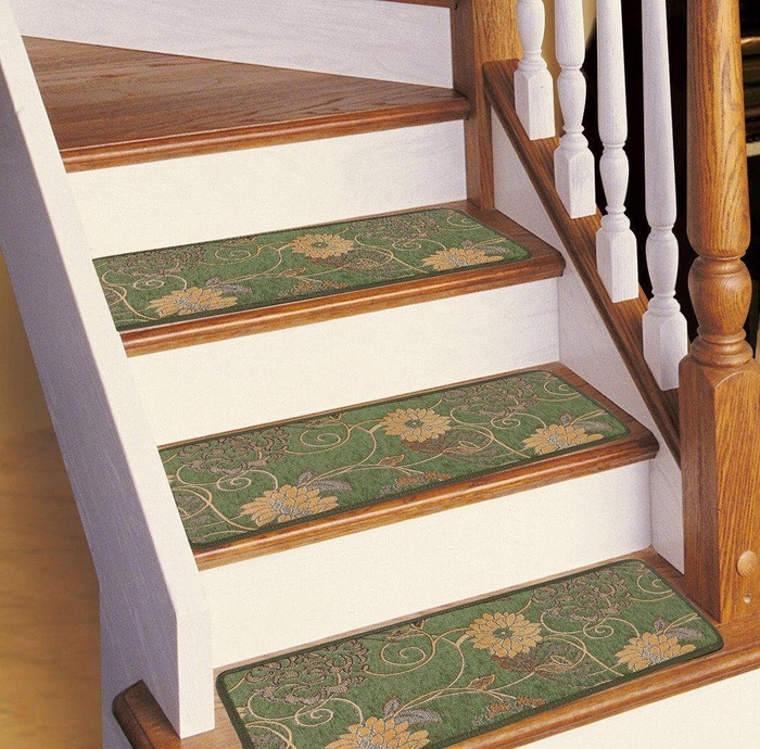 Online Store Soloom Carpet Stair Treads Non Slip Set Of 13 Indoor Skid Resistant Stair Treads