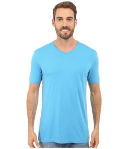 Agave Denim Men's Prosser Supima? V-Neck Mediterranean Blue T-Shirt LG