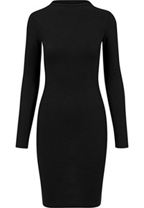 Urban Classics Ladies Dress Rib