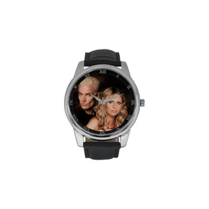 Buffy The Vampire Slayer DBLN532 Men Wrist Watches Leather Strap Large Dial Watch
