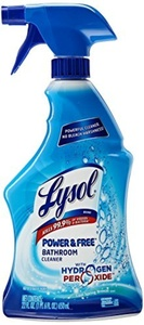 Lysol Power and Free Bathroom Cleaner, 22 Ounce by Lysol