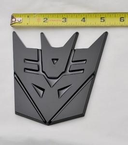 5 Transformer Decepticon 3d Emblem New by transformer emblem