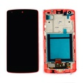 New RED LG Google Nexus 5 D820 D821 Touch Screen+Lcd Display Assembly +Frame