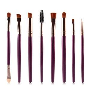 HUBEE 8Pcs Make Up Brushes Set Eye Shadows Powder Kit Beauty Tool