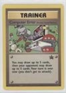 Pokemon - Computer Error (Pokemon TCG Card) 1999-2002 Pokemon Wizards of the Coast Exclusive Black Star Promos #16 by Pokemon Wizards of the Coast