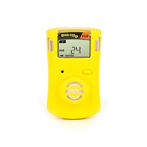 Gas Clip Technologies SGC-H Single Gas Clip H2S, 2 Year Hydrogen Sulfide (HS) Detector, Set Points: Low-10 ppm High-15 ppm by Gas Clip Technologies