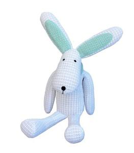 Safe Dreams Safebreathe Hoppy Soft Toy for Newborn (White) by Safe Dreams