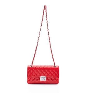 Barbie Elegant Series Simple Fashion Diamond Handbag #BBFB087 (standard, red)