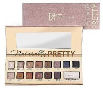 It Cosmetics Naturally Pretty Vol 1 Matte Luxe Transforming Eye Shadow Palette by It Cosmetics