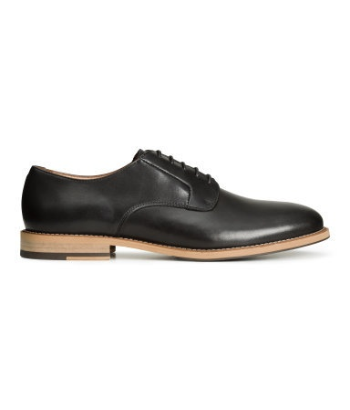 Men's Leather Derby Dress Shoes