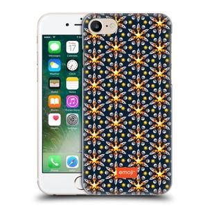 Official Emoji Space Floral Patterns Hard Back Case for Apple iPhone 7