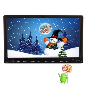 EinCar 7 inch Android 5.1.1 Car Stereo Lollipop Quad Core Capacitive Touch Screen in Dash Car DVD Player Auto Video Headunit support GPS Navigation Radio Bluetooth WiFi Screen Mirror