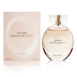 C 'a 'l 'v 'i 'n 'K 'l 'e 'i 'n Sheer Beauty Eau De Toilette NEW IN BOX 3.4 oz./ 100 ml