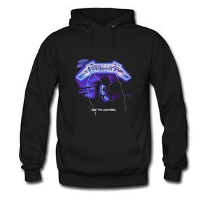 Metallica Ride Lightning For men Printed Sweatshirt Pullover Hoody