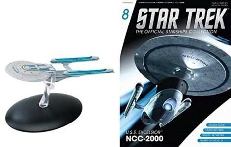 Star Trek Starships Issue 8 U.S.S. Excelsior NCC-2000 by Eaglemoss