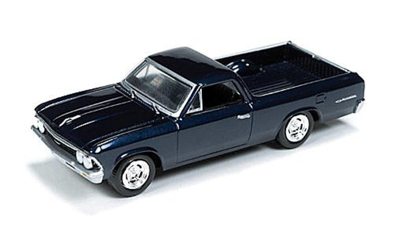 Online Store Chevrolet El Camino Metallic Dark Blue 1966 Model Chevy Car Ready