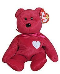 Valentina the Valentine Beanie Baby by Other Stuff by Other Stuff
