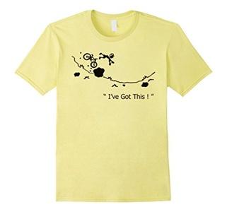 Men's I've Got This - Funny Bike Shirt 2XL Lemon