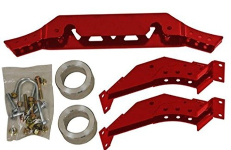 Super ATV 3-5 Inch Red Polaris RZR XP 1000 Lift Kit LK-P-RZR1K-3-5-R by Super ATV