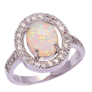 FT-Ring White Fire Opal Jewelry Wedding Ring For Women Engagement Wedding Bridal Rings (12)